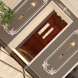 lifs and elevator are proper install in gulberg heights in gulberg greens islamabad