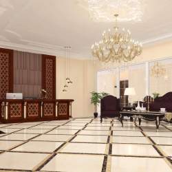 Reception area are specified for receptions and waiting guest`